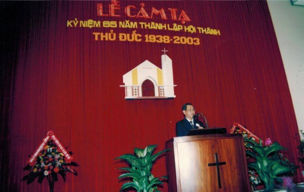 Lễ Cảm Tạ 65 năm hình thành và phát triển Hội Thánh Thủ Đức